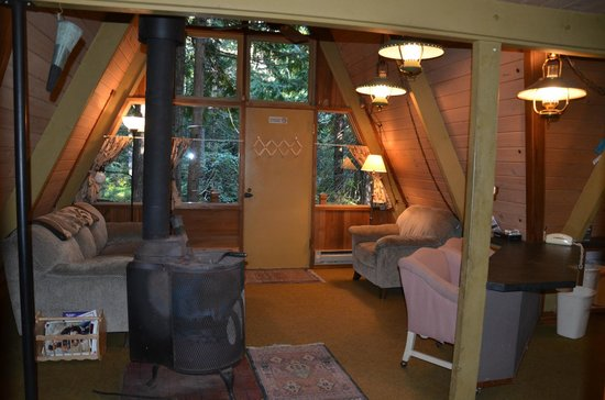 Summit Meadow Cabins: Falls Cr interior