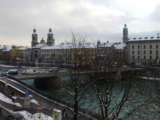 Hotel Schwarzer Bär: Vista dalla camera