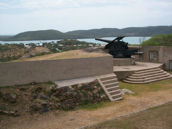 Thursday Island, Australia: Green Fort Hill
