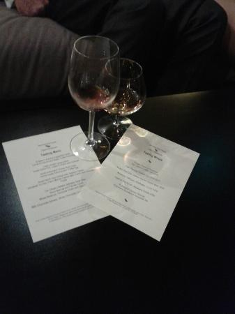 Jesmond Dene House: Tasting Menu with wines - truly...a decadent treat!