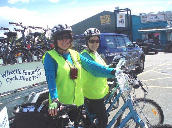 Wheelie Fantastic Cycle Hire & Tours: Mapua Wharf