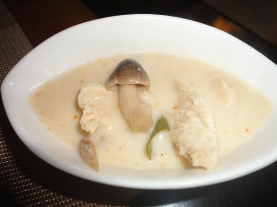 Kao Tong Modern Thai: Tom Kha Soup with Chicken