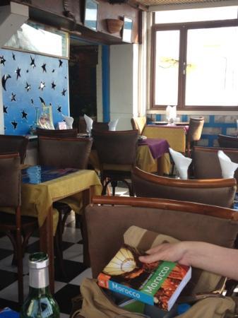 Sam's Restaurant : chez Sams on a sunny day!