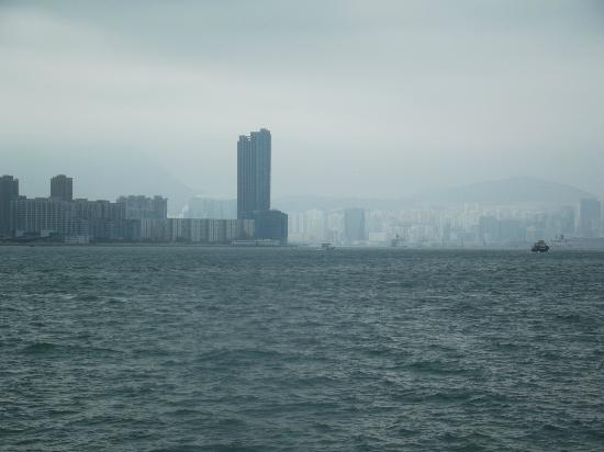Harbour Grand Kowloon: view of hotel from ferry