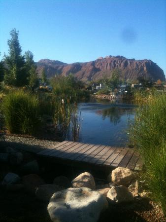 Portal RV Resort / Campground: View from resort
