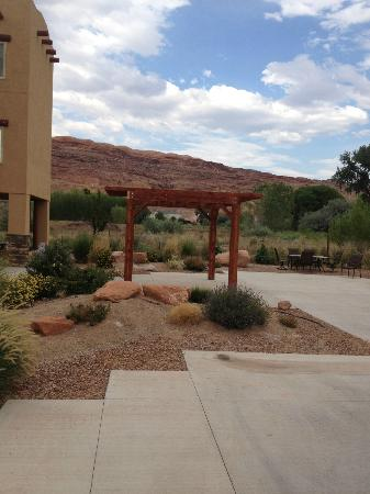 Portal RV Resort / Campground: Resort back in with shade cover