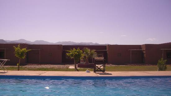 Hotel Canon de Talampaya: Los arboles del solarium me llegaban a la cintura...