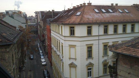 Bo18 Hotel Superior: Vistas desde la habitación 503
