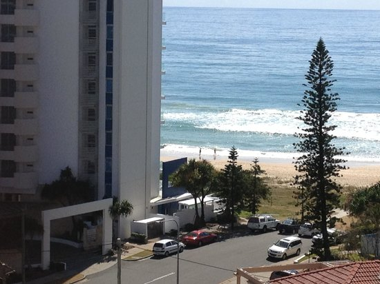 Surfers Century Apartments: View from balcony 9th floor