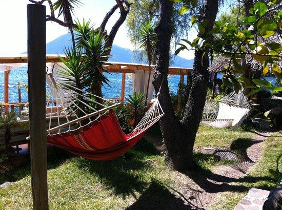 La Casa Rosa Hotel: Grab a hammock and relax!