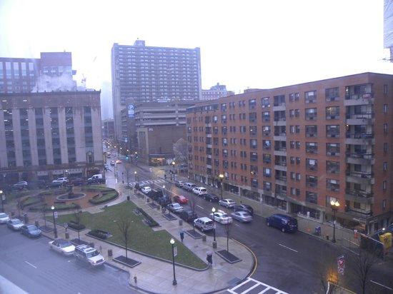 โรงแรมบอสตัน พาร์ก พลาซาแอนทาวเวอร์: View from room