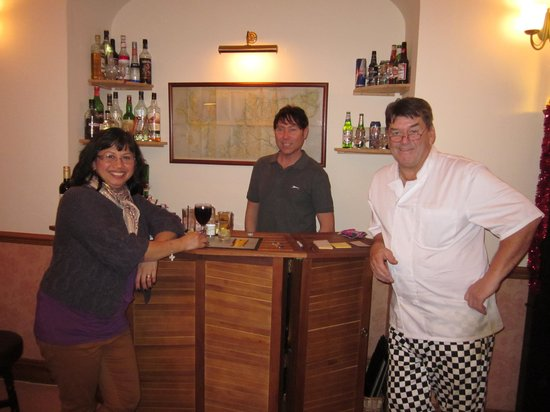 Kirkby House Hotel: With the Stephen and the chef