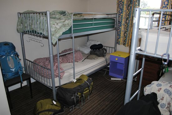Bamber House Hostel: Room 14 - day of departure so a bit messy!