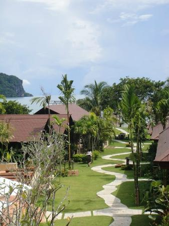 Baan Taranya Resort: the view from our room