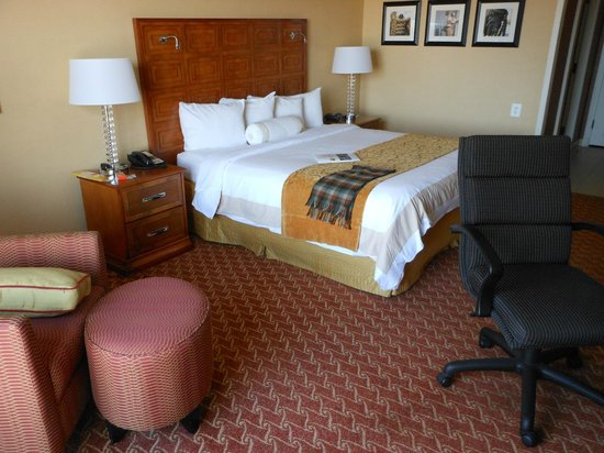 Baltimore Marriott Waterfront: King size bedroom