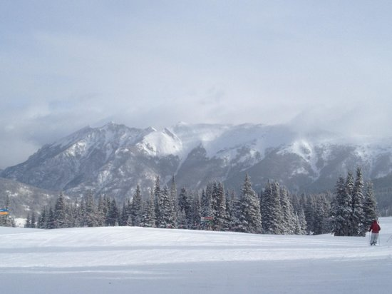 Copper Mountain Ski Area: Copper in the morning