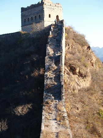 Great Wall Adventure Club : one of the bigger climbs