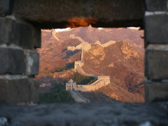 Great Wall Adventure Club : sunset