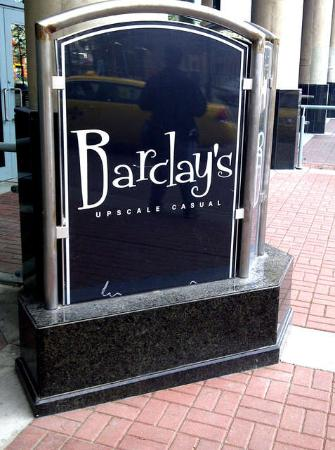 Barclay's Upscale Casual
