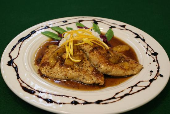 Echo Lake Inn : Orange Balsamic Chicken