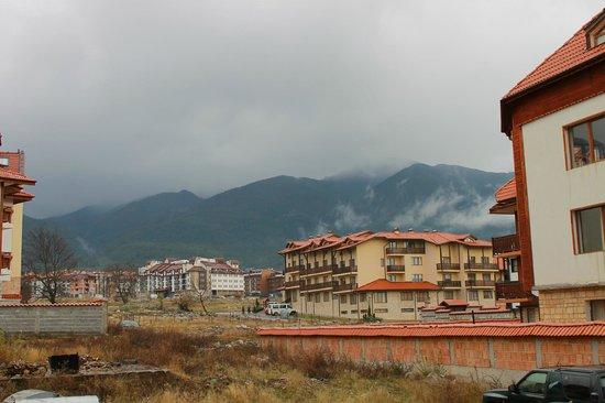 Pirin River Ski & Spa: View from T.V area