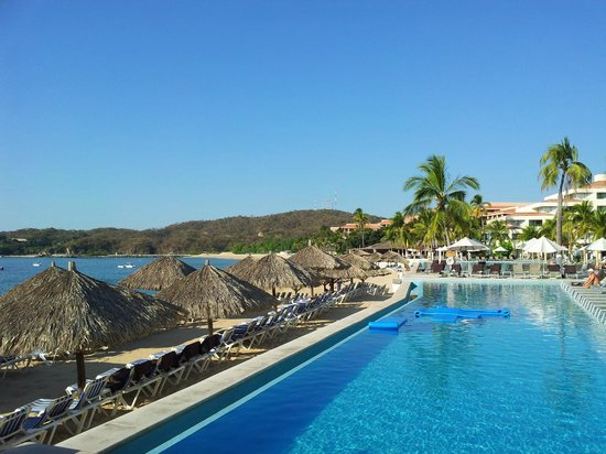 Pool View Picture Of Dreams Huatulco Resort Amp Spa