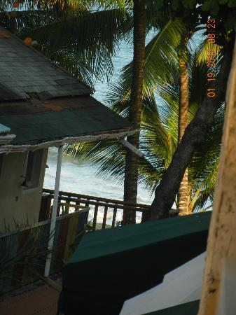 Areca Apart Hotel: view from the deck