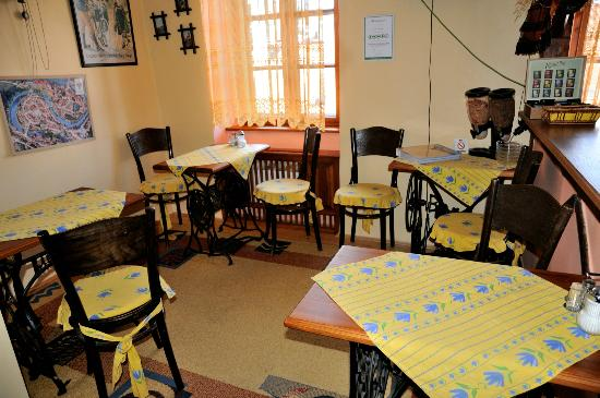 Pension Nostalgie - Guesthouse: dining room