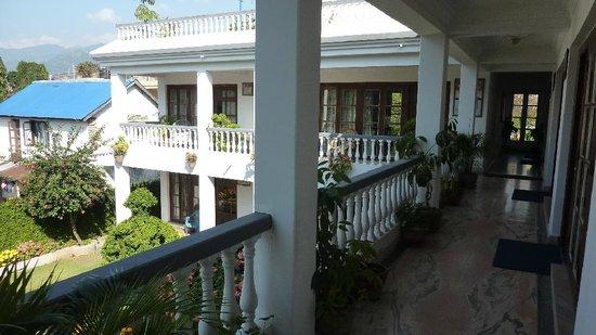 Vagabond Guest House : Garten, vom Zimmer aus gesehen