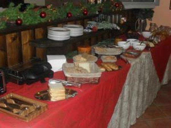 Xenonas sta Tzakia : Breakfast corner