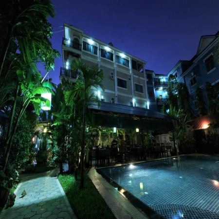 Siem Reap Garden Inn: Hotel Exterior