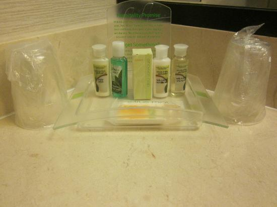 Holiday Inn Civic Center (San Francisco): Lot of bath products