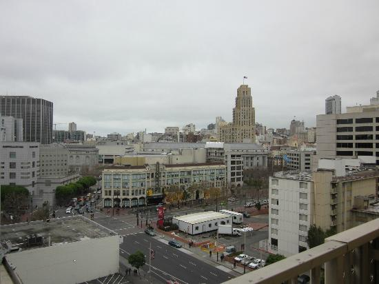 ‪‪Holiday Inn Civic Center (San Francisco)‬: View from my balcony‬