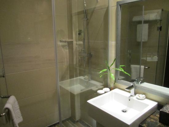 Jadeite Valley Eco Resort : Bathroom