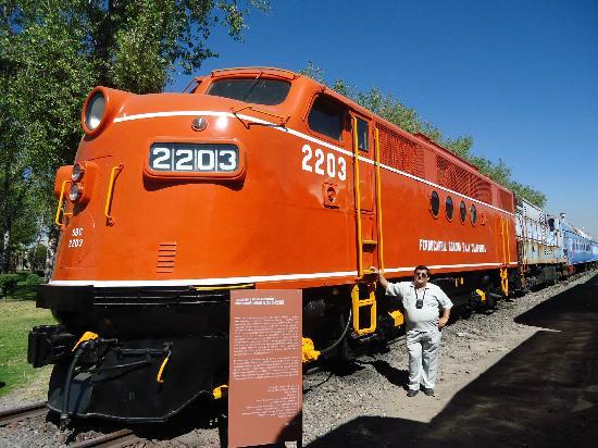 """Museo Nacional del Ferrocarril: """"En muy buen estado"""" físico están estas locomotoras"""