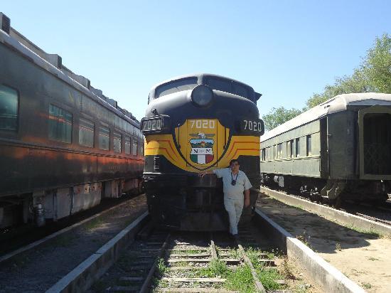 Museo Nacional del Ferrocarril: Estaba muy niño y aún recuerdo el andar de estas locomotoras