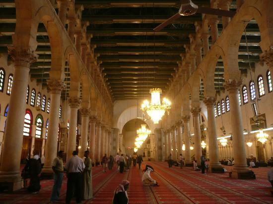 Inside Umayyad Mosque - Picture of Umayyad Mosque, Damascus