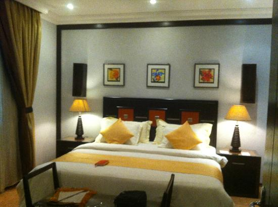 Boudl Al Salmia : Bed room