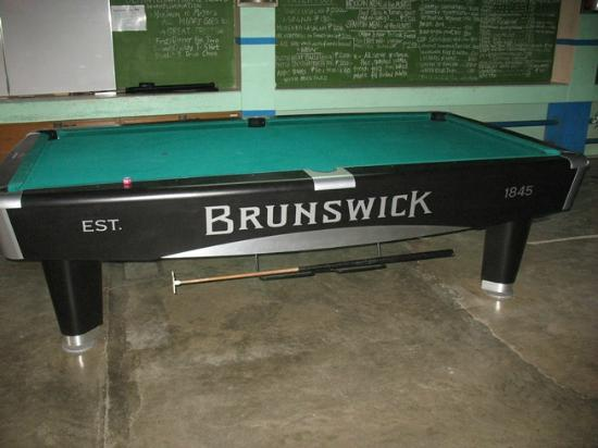 Our New Brunswick Pool Table Picture Of Johans Beach Resort - New brunswick pool table