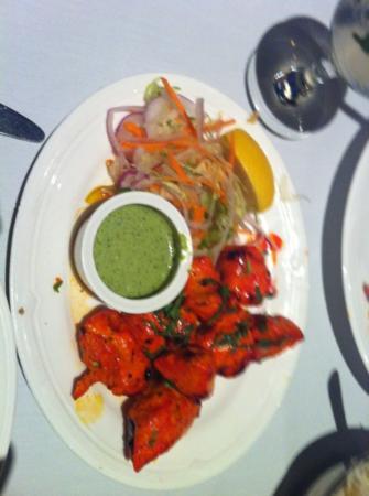 Salam Bombay : chicken tikka