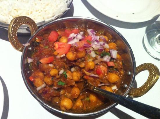 Salam Bombay : channa masala