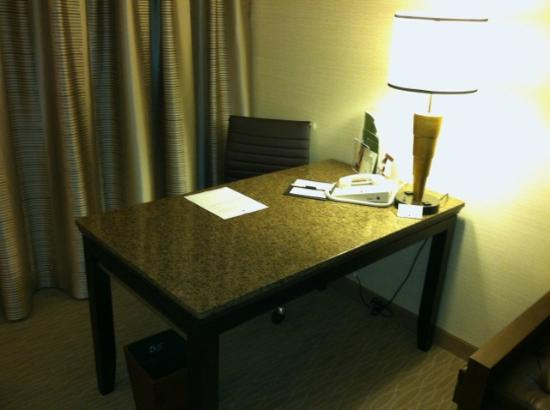 Doubletree by Hilton Anaheim - Orange County: furniture has been refinished, not replaced, but looks nice.