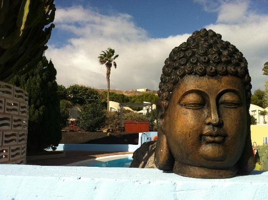 VIK Suite Hotel Risco del Gato: Zona piscina y spa del hotel
