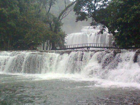 Bislig, Philippines: The majestic picture....