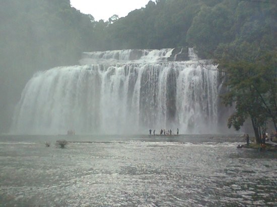 Tinuy-an Falls: The entire formation...