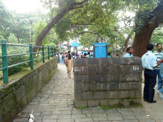 Elephanta Caves: ticket counter
