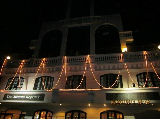 The Menino Regency: Front view of Menino Regency