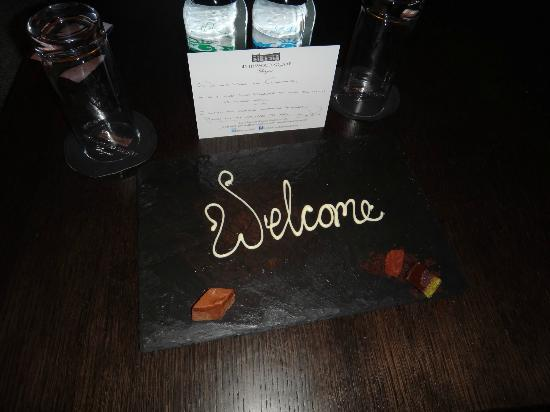 Blythswood Square: Welcome sweeties