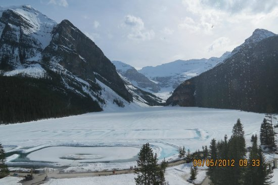 Fairmont Chateau Lake Louise: Gorgeous view