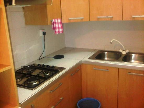 Central Hotel: kitchenete